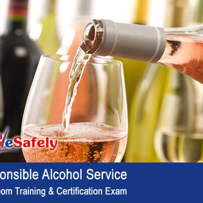 Responsible Alcohol Service Classroom Training & Cert Exam